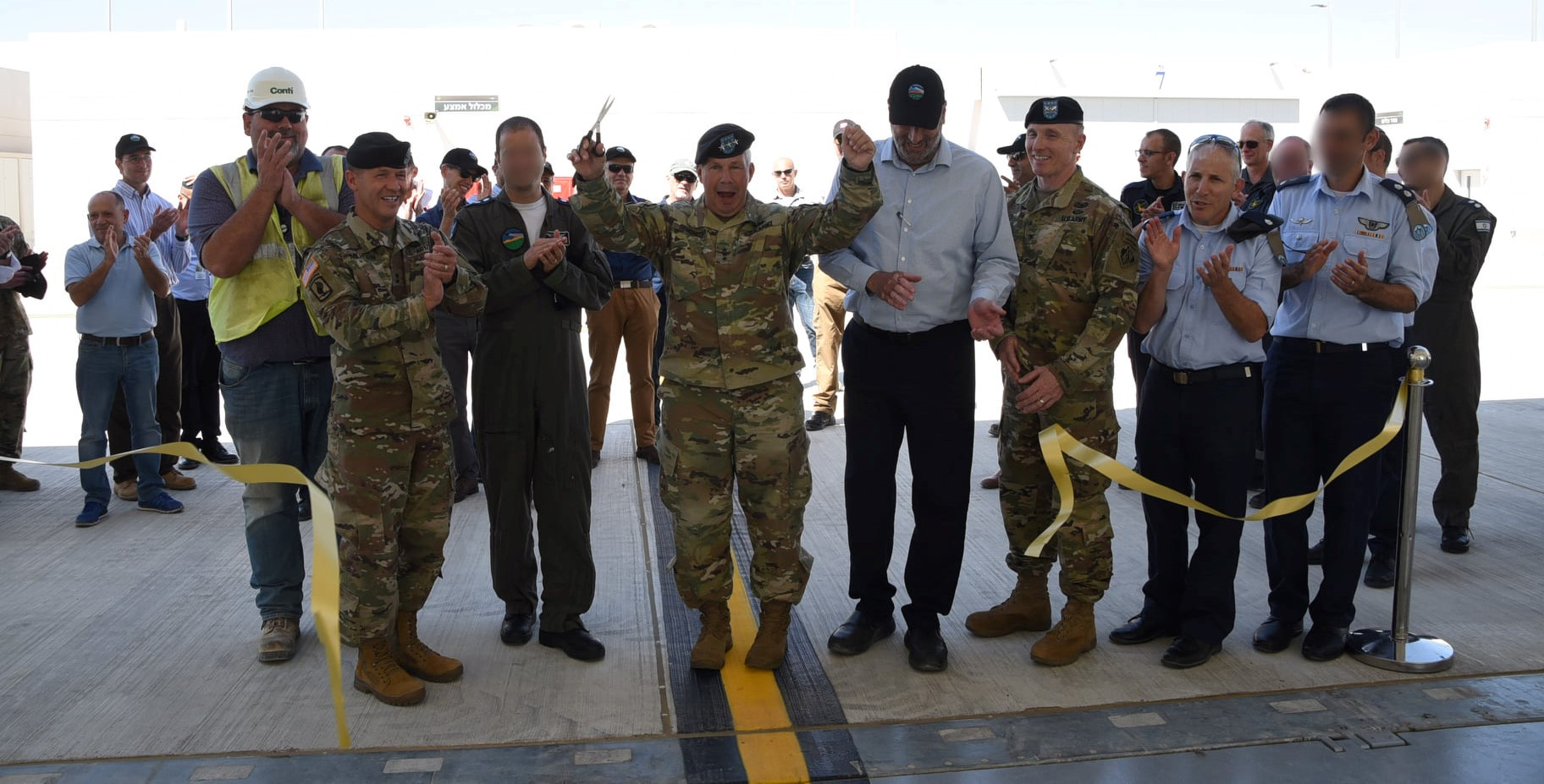 Conti Federal Services Celebrates the Opening of New Hangar Project with USACE and the IAF