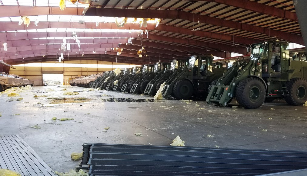Conti Federal Helps to Rebuild Marine Corps Logistics Base Albany in the Wake of Hurricane Michael