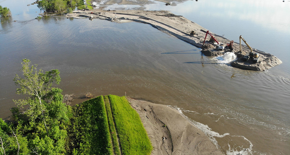 Conti Federal Services Selected for IDIQ to Support the Repair and Restoration of the Missouri River Levee System by USACE Omaha