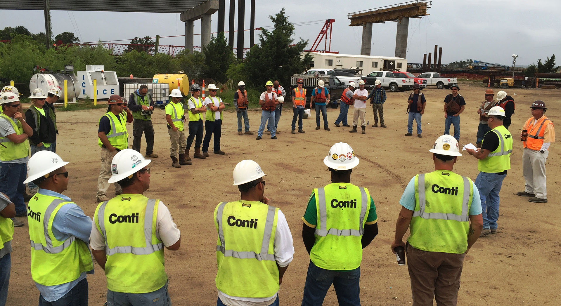 State of New Jersey Honors Conti's Safety Performance
