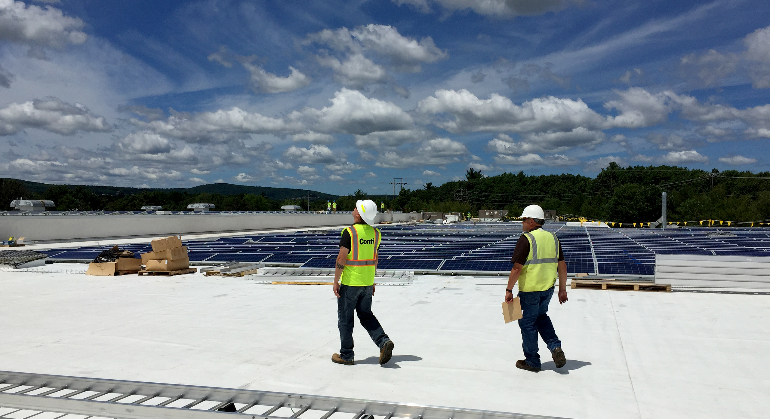 Conti Helps Achieve Military Base Solar Goals