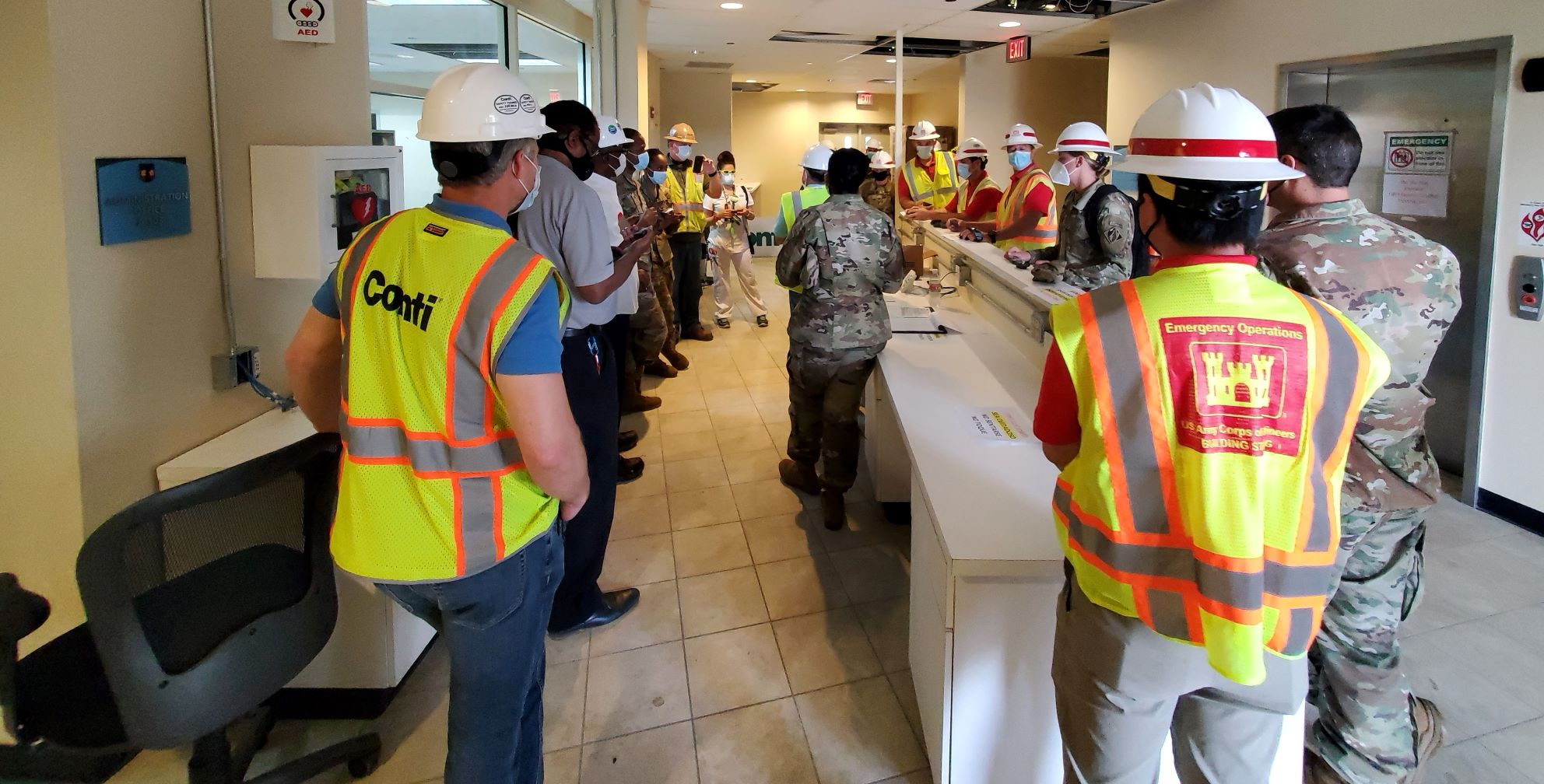 Conti Federal Completes COVID-19 ACF on St. Croix in Record Time