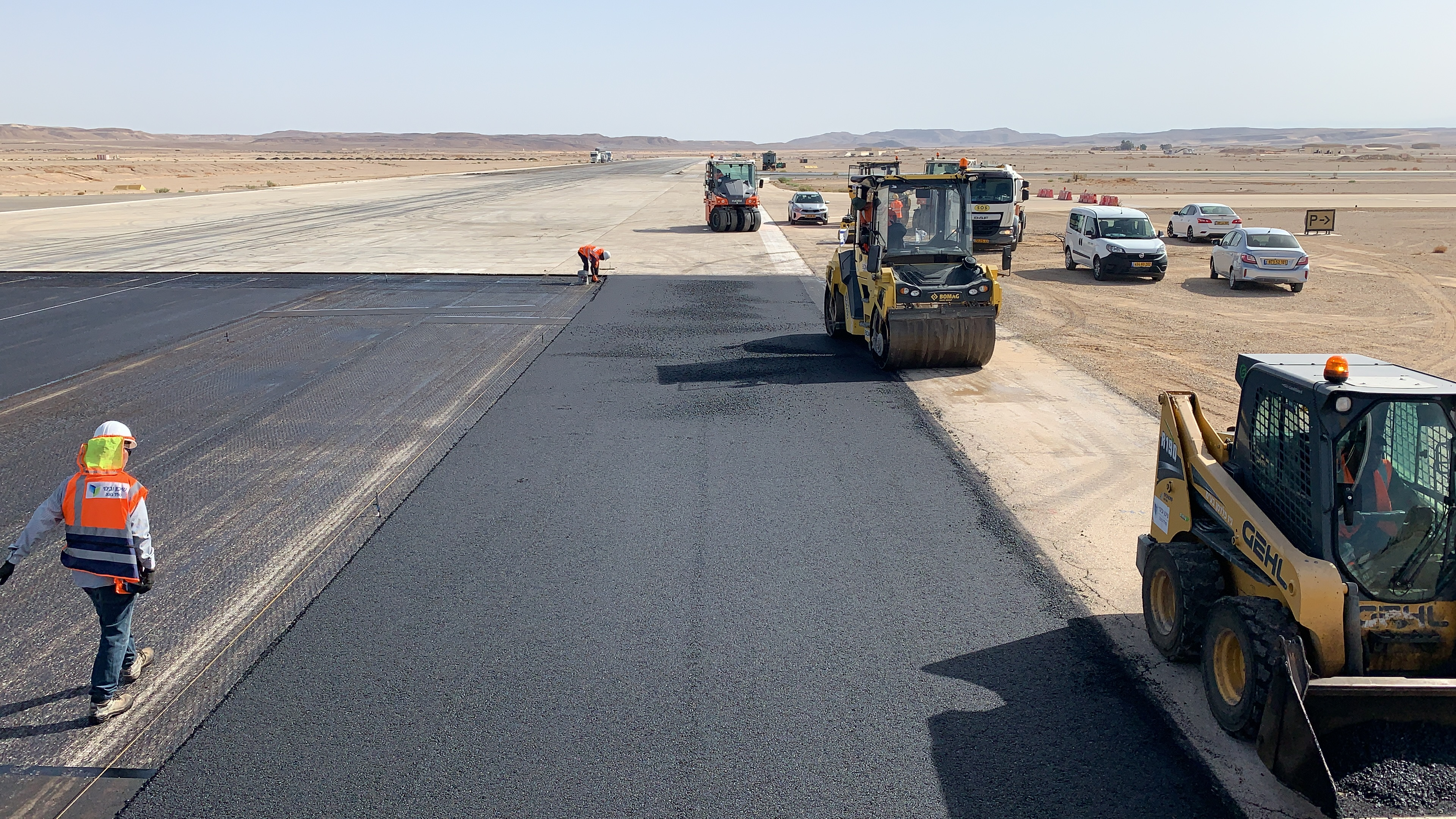 Conti Federal Completes Runway and Taxiway Renovation at Ovda Air Force Base in Israel